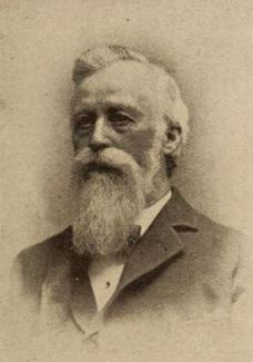David E. Clarke (1827-1907) Original Checkers Player of VT and Concord NH