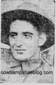 George Dilboy's photograph from the Boston Post newspaper.