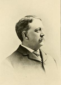 Dr. Charles B. Hammond of Nashua NH.  Likeness from Likeness from History of the city of Nashua, N. H. by Edward Everett Parker, 1897