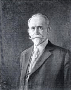 Self Portrait of Frank French