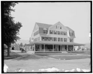 Photograph of Hotel Randall, North Conway, N.H. [Between and 1910, 1900] Detroit Publishing Co., Publisher. Retrieved from the Library of Congress. (Accessed April 18, 2016.)