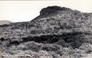 """Indian Head"" profile on Mt. Pemigewasset, Franconia NH"