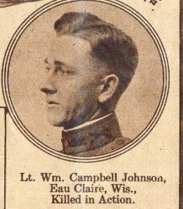 JOHNSON Wm Campbell Eau Claire WIS