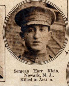 KLEIN Harry Newark NJ