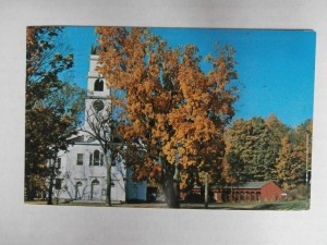 A photograph of scenic Lyme NH in autumn.