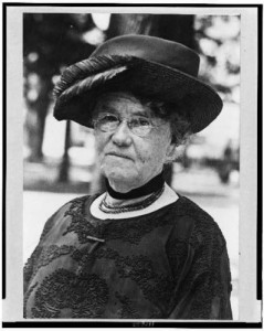 Dr. Mary Mills Patrick, head-and-shoulders portrait, facing slightly left, published between 1910 and 1930; Library of Congress.