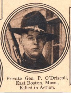 ODRISCOLL George P East Boston MA