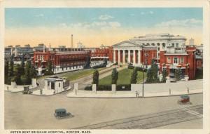 Peter Bent Brigham Hospital circa 1918