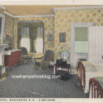 Rice-Varick Hotel bedroom circa 1927