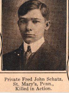 SCHATZ Fred John St Marys PA