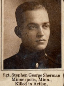 SHERMAN, Stephen George Minneapolis MN