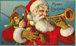 Santa Claus vintage card