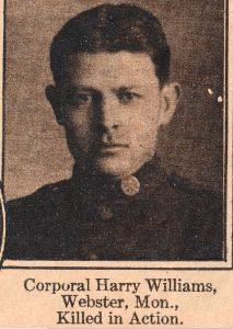 WILLIAMS, Harry Webster MON