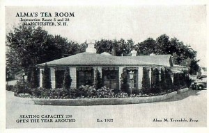 almas tea room