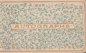 authographs