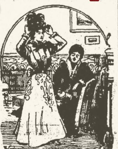 Illustration from Portsmouth Herald April 1, 1899, page 5.
