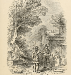 Print from History of Barnstead NH from its first settlement in 1727 to 1872, by Jeremiah P. Jewett, Lowell Mass., Marden & Rowell, printers; 1872; page 10