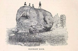 Elephant Rock in Newport NH