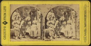 The ghost: Stereograph, 1850-1920 from Boston Public Library, Print Department