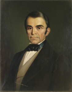 Portrait of Jacob Bailey Moore (1797-1853), by Helena Smith Dayton (1879-1960), 1947. Oil on canvas. New Hampshire Historical Society Collection