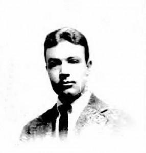 Passport photograph of Joseph A. Coletti in 1923.