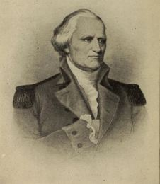 "Likeness of Major-General John Stark from book: ""Stark's Independent Command at Bennington,"" by Herbert D. Foster."