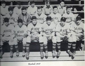 Manchester West High School baseball team of 1937