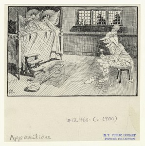 "Art and Picture Collection, The New York Public Library. ""[The cobbler's ghost]"" The New York Public Library Digital Collections. 1900. http://digitalcollections.nypl.org/items/510d47e2-c54f-a3d9-e040-e00a18064a99"