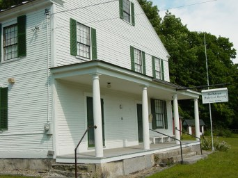 piazza of Goffstown Historical Society