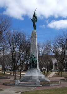 Victory Park Monument, Manchester, NH. Photograph by John Platek, used with his permission.