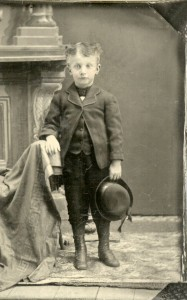 Clarence L. Webster, circa 1887