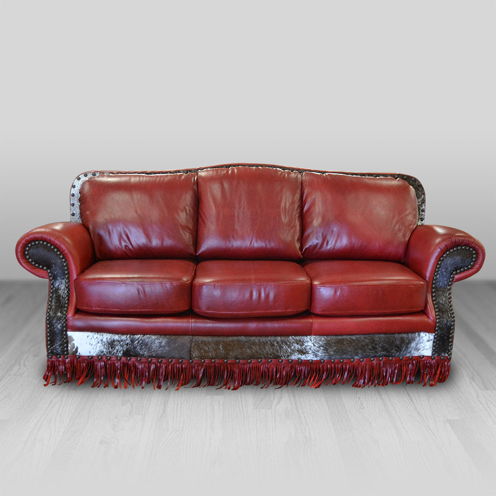 sofas san antonio sofa material options cowhide western furniture 4 232 00