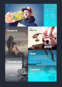 Tiles In Web Design | Tile Design Ideas