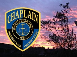 chaplain sunset badge