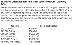 Viking Cruise Marriott Rewards Points
