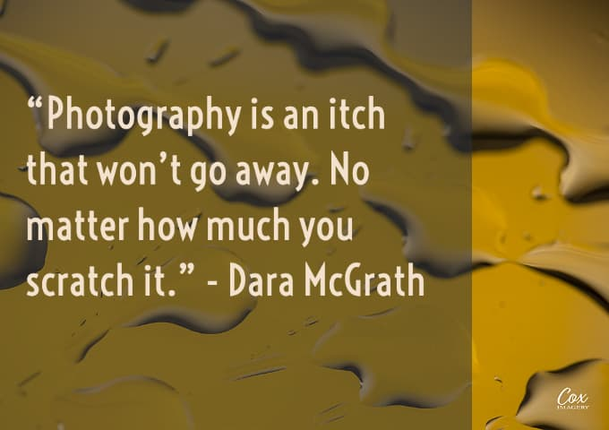 photography is an itch