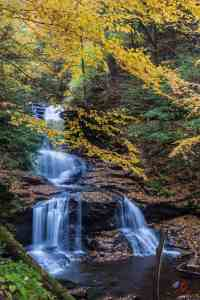 Behind The Shot – Rickett's Glen State Park