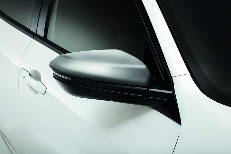 Genuine Honda Civic TypeR FK8 Silver Door Mirror Caps