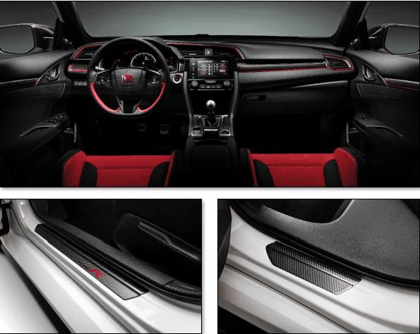 Genuine Honda Civic TypeR FK8 Carbon Interior Pack 2017