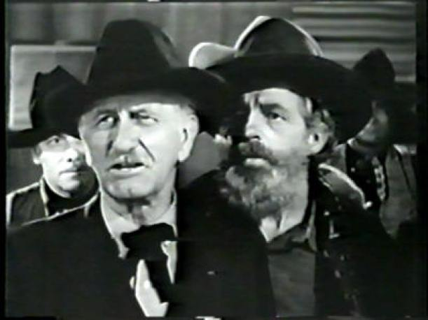 Edward Coxen (right) in 'Lafe & Jed'