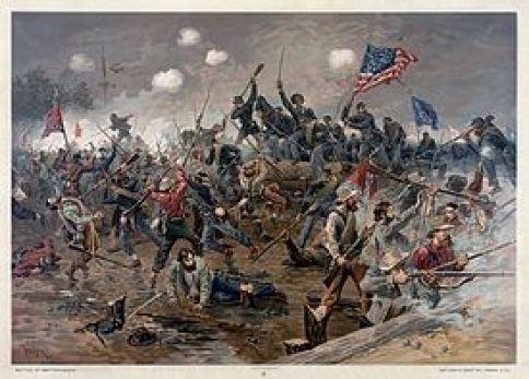 Battle_of_Spottsylvania_by_Thure_de_Thulstrup