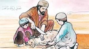 আল্লাহর নিকট অধিক পছন্দের আমল কুরবানি