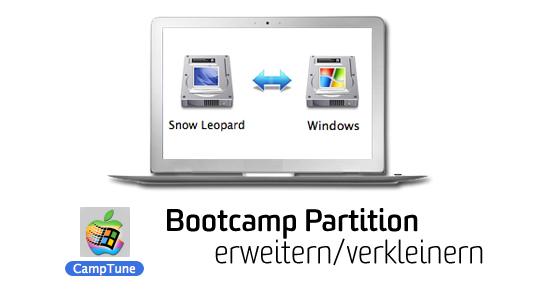 How-to: BootCamp Partition nachträglich erweitern/verkleinern
