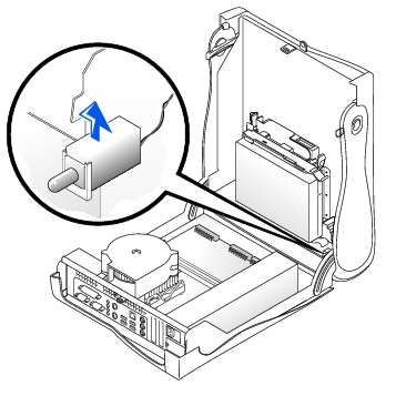 Chassis Intrusion Switch: Dell OptiPlex GX260 Service Manual