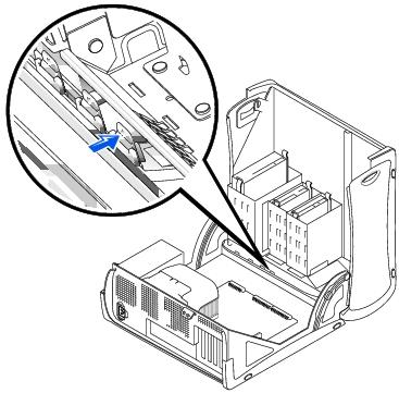 Front-Panel Inserts: Dell OptiPlex GX260 Service Manual