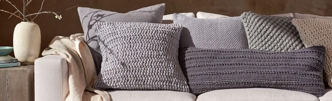 Woven Tel Organic Pillow Cover