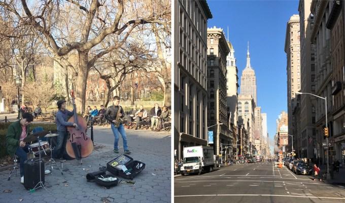 Jazz na Washington Square Park nas dicas de viagem para Nova York | Cozinha do João
