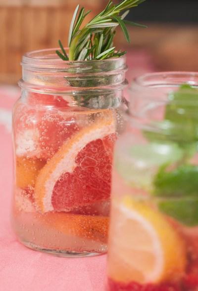 Receita de soft drink (sem álcool) de Grapefruit com alecrim | Cozinha do João