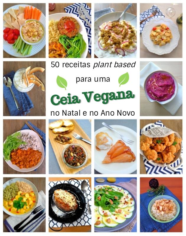50 receitas veganas para as ceias de Natal e Ano Novo sem carne