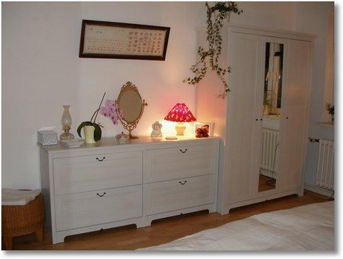 Bild unseres neuen Schlafzimmers von IKEA